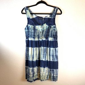 Volcom Tie Dye Button Down Sun Dress Size Small